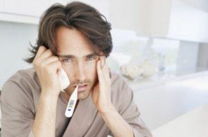 Повышенная температура при цитомегаловирусе