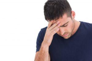 Мужчина с симптомом цитомегаловируса