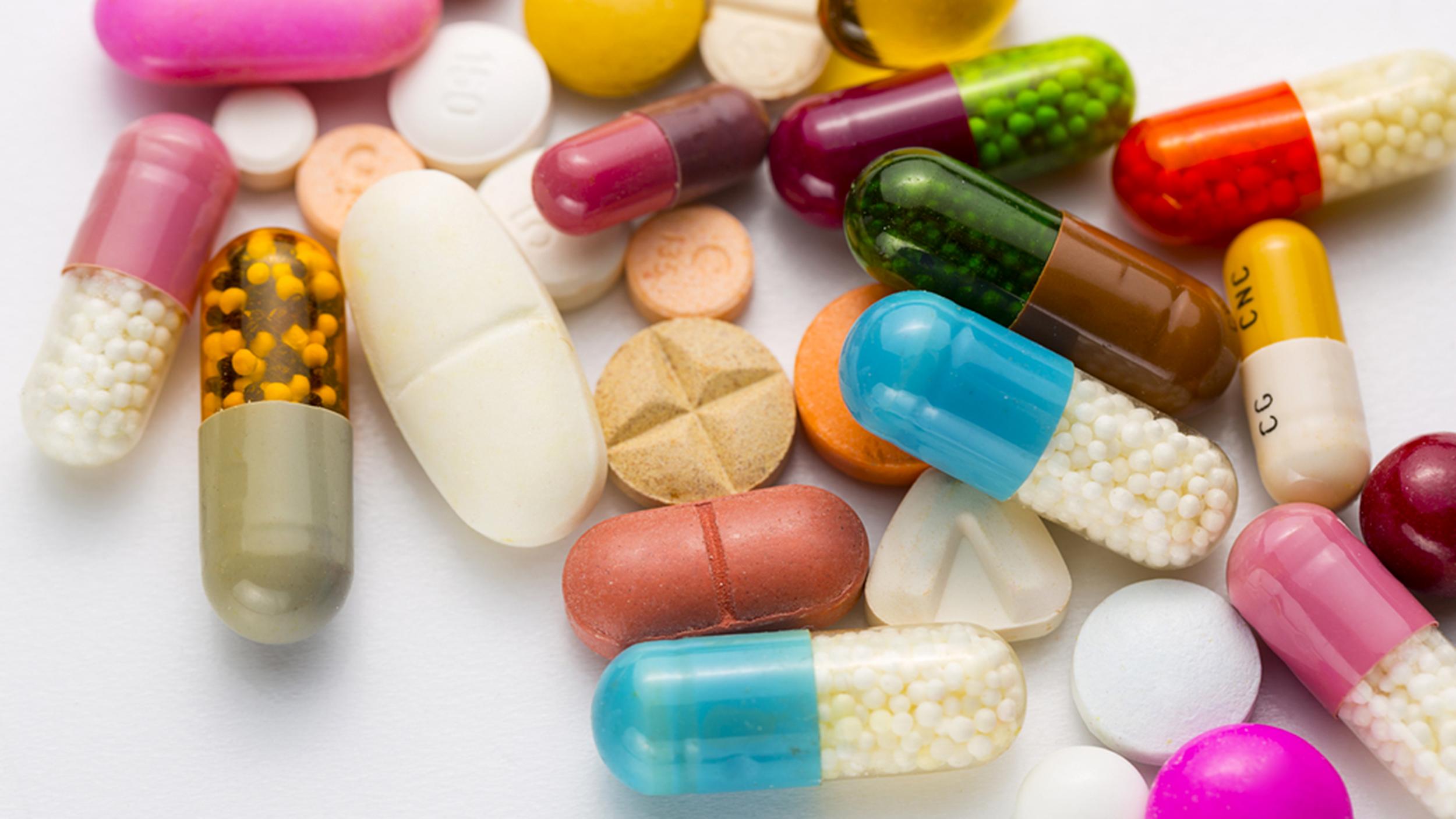 Многообразие лекарств
