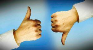 Мнения в жестах