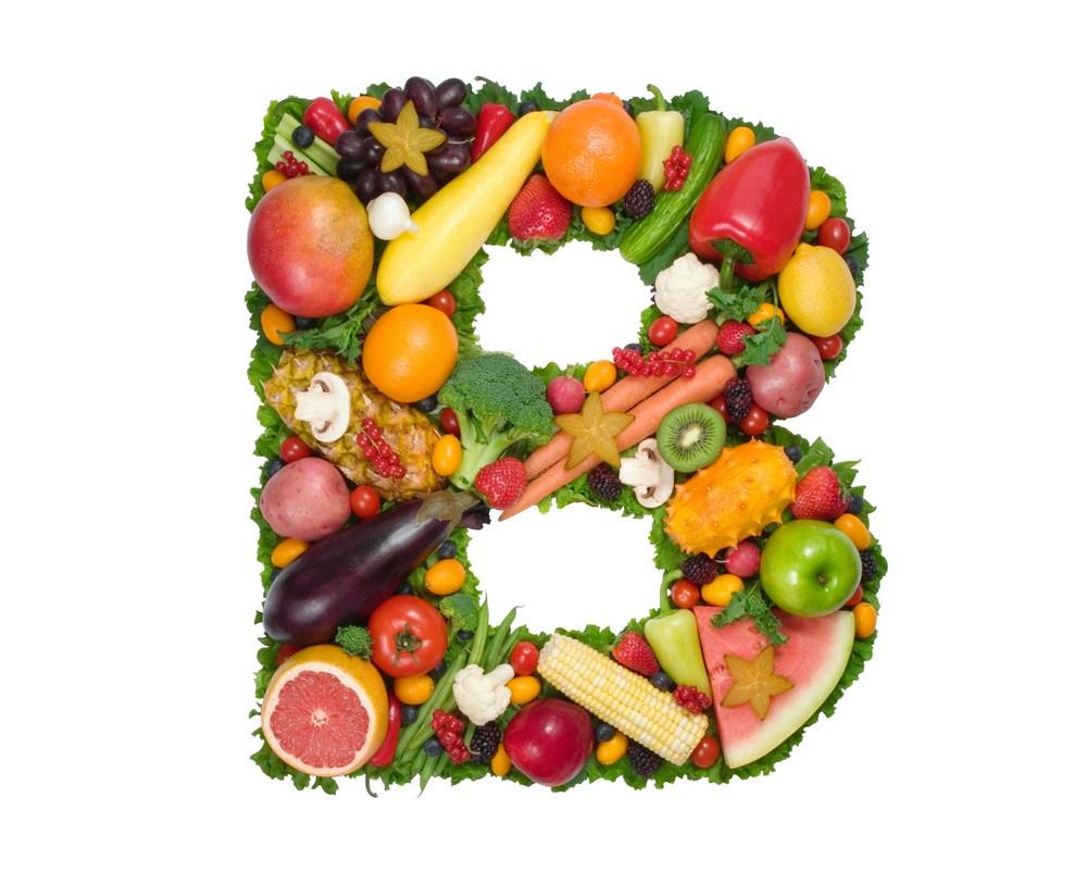 Правильное питание с учетом витаминного состава буква В
