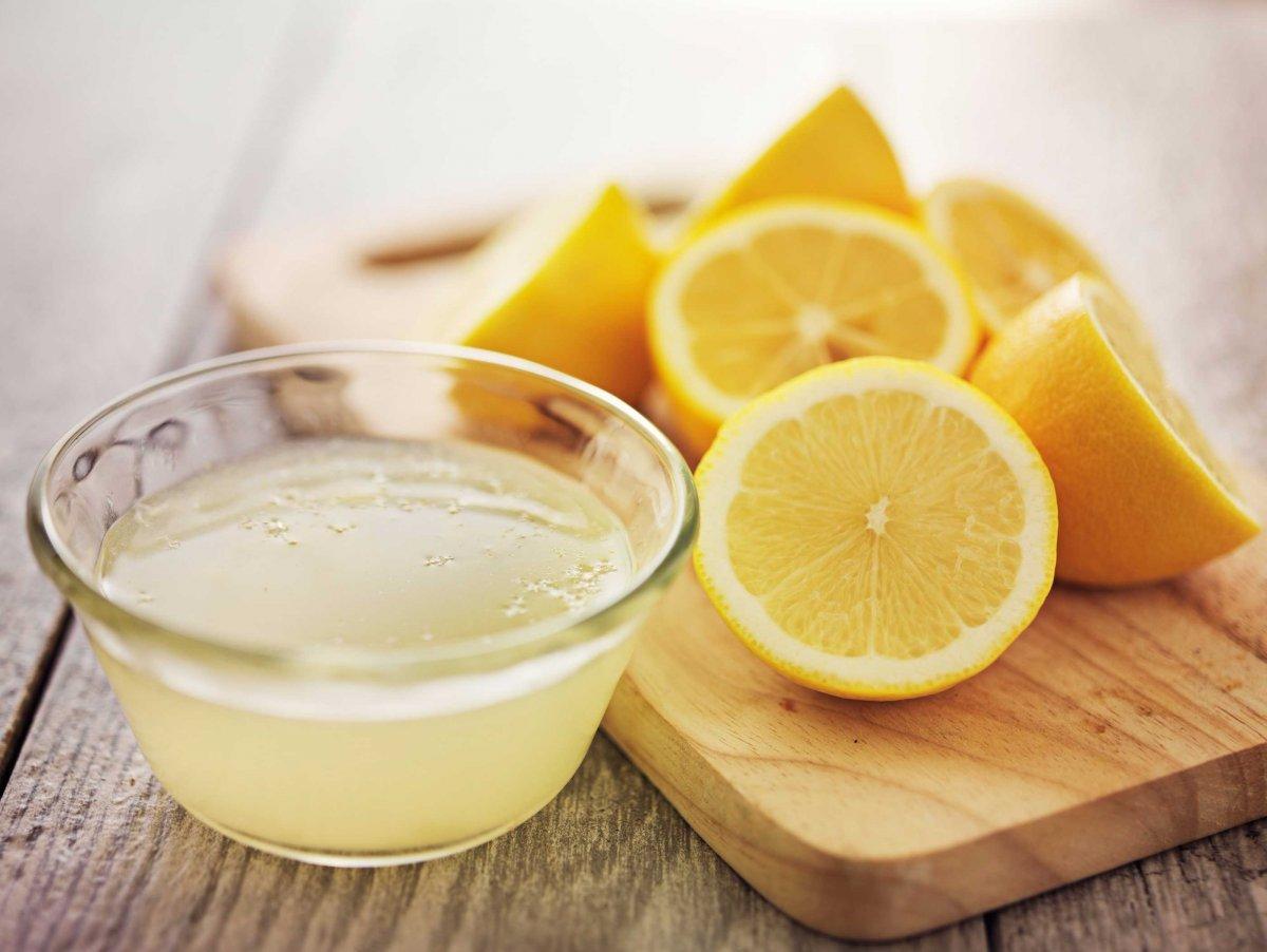 Раствор с содой и лимоном