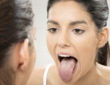 Проверка состояния горла