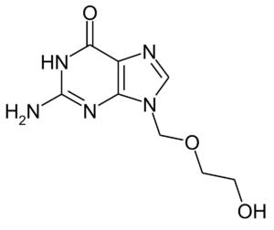 Молекула Ацикловира