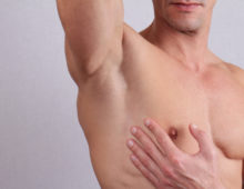 Здоровая кожа у мужчины