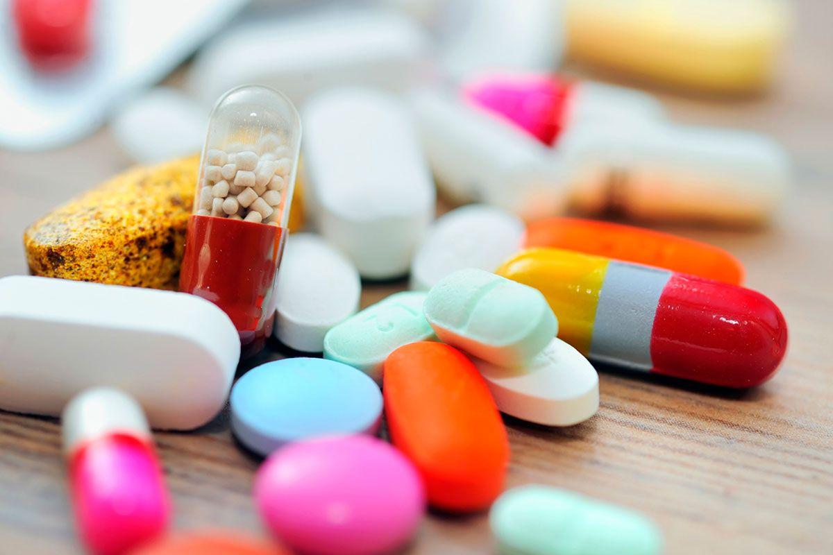 Таблетки вид близко